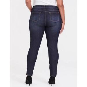 Torrid 10 Tall dark wash skinny jeans 10T